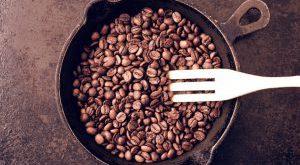 رست دانه قهوه